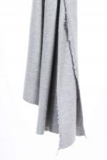 Schal aus Kaschmir und Seide in Grau