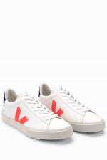 Nachhaltiger Sneaker CAMPO in Weiß/Orange/Navy