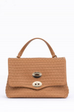 Tasche POSTINA SMALL in Camel