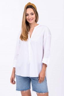 Bluse OPPI in Weiß