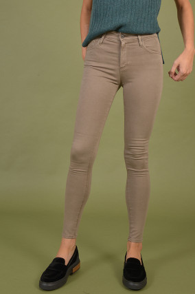 Hose The Farrah Skinny Ankle in Taupe