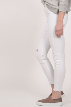 Jeans THE FARRAH SKINNY ANKLE in Weiß