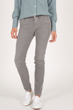 Cordhose BAKER LONG in Grau