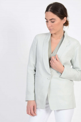 Blazer in Salbei