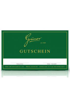 Gutschein per Post - 750 €