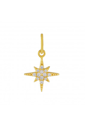 Charm ASTRAL STAR in Gold