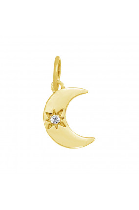 Charm MOONLIGHT in Gold