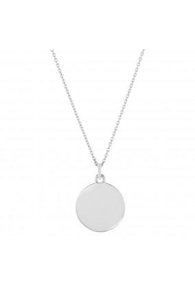 Halskette DISC in Silber