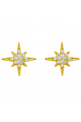 Ohrringe ASTRAL STAR in Gold