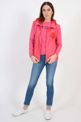 Gilet MEXICO in Pink