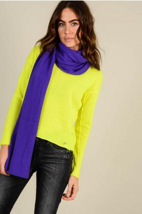 Schal in Violett