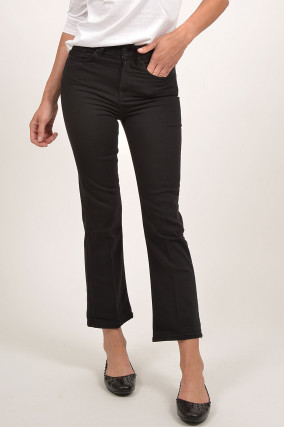 Jeans VINTAGE CROPPED in Schwarz