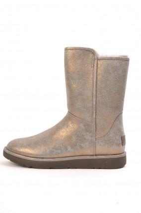 Boots ABREE in Grau metallic