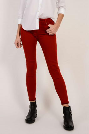 Jeans THE FARRAH SKINNY ANKLE in Rot