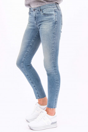 Jeans THE LEGGING ANKLE in Hellblau