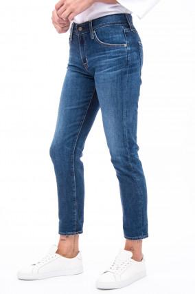 Jeans THE EX-BOYFRIEND SLIM in Mittelblau