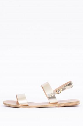 Sandale CLIO in Platin