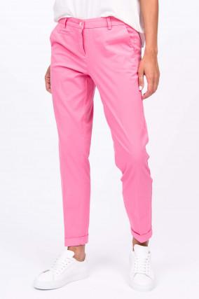 Baumwoll-Chino STELLA in Pink