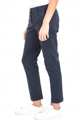 Baumwoll-Chino STELLA in Navy
