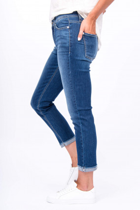 Jeans PIPER - THE GREENER COTTON in Mittelblau
