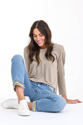 Jeans TESS in Mittelblau