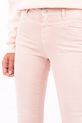 Jeans COLOR DENIM SKINNY PUSHER in Pastellrosa