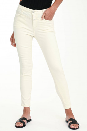 Jeans SKINNY PUSHER in Creme