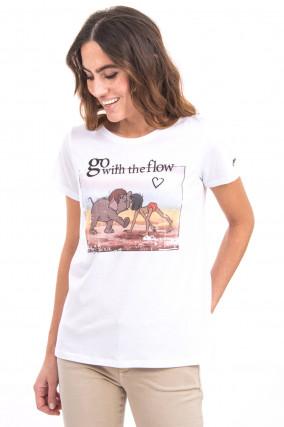 The Jungle Book T-Shirt in Weiß