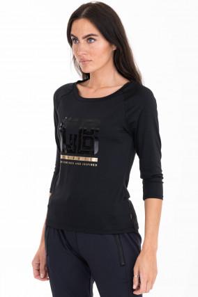 Shirt DAPHNE in Schwarz