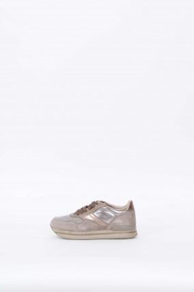 Sneakers SPORTIVO in Taupe/Metallic