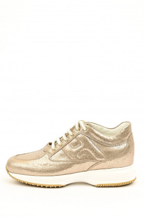Sneaker INTERACTIVE in Gold