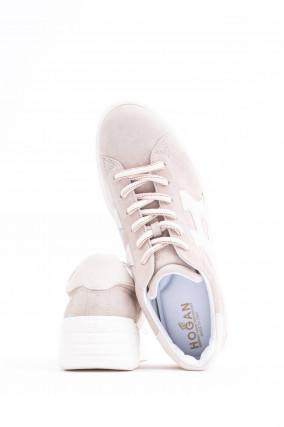 Sneaker REBEL H562 in Sand/Weiß