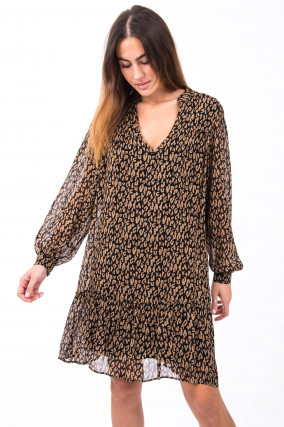 Kleid Ellena im Animal-Design