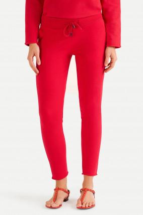 Slim Fit Sweatpants in Rot