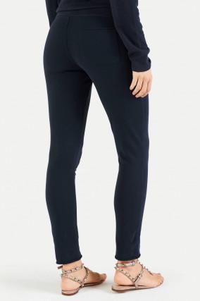 Slim Fit Sweatpants in Navy