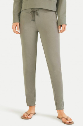 Slim Fit Sweatpants in Khaki