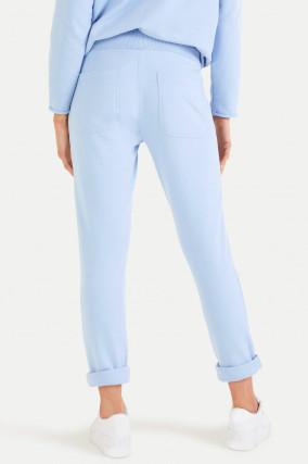Relaxed Fit Sweatpants in Hellblau