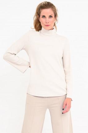 Jerseyshirt ETHEL in Creme