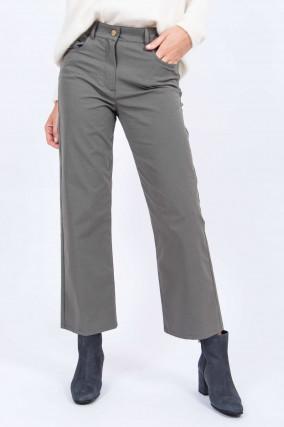 Culotte-Jeans in Grau