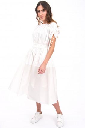 Midi-Kleid ABITO in Weiß