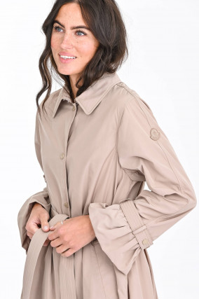 Trenchcoat NAVIGATORIA in Beige