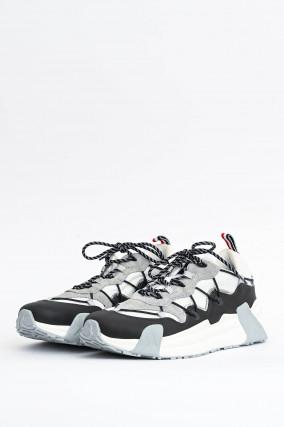 Sneaker COMPASSOR in Weiß/Grau/Schwarz