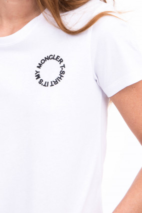 T-Shirt IT'S MY MONCLER T-SHIRT in Weiß