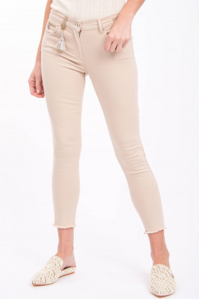 Jeans CINQ CUT in Beige