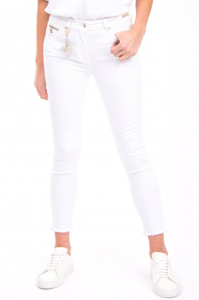 Jeans CINQ CUT in Weiß