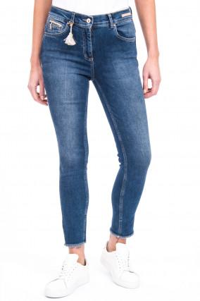 Jeans CINQ CUT in Mittelblau