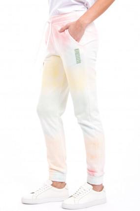 Jogging-Hose mit Farbverlauf in Multicolor