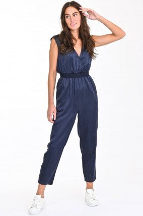 Maxi-Jumpsuit in Blau