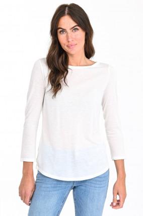 Shirt I'M A MILK SHIRT mit 3/4-Arm in Vanille