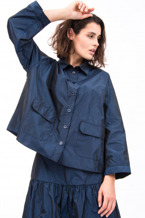 Bluse MOLLYS in Navy